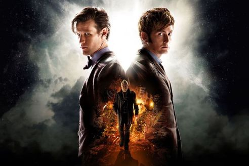 Matt-Smith-as-the-Eleventh-Doctor-and-David-Tennant-as-the-Tenth-Doctor-joined-by-John-Hurt-in-the-50th-Anniversary-2264165
