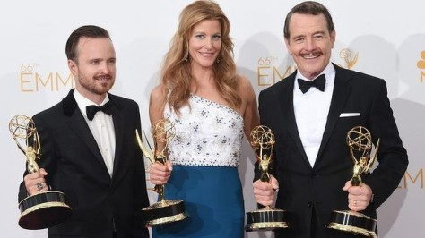 A série Breaking Bad saiu vitoriosa na 66ª edição do Emmy Awards