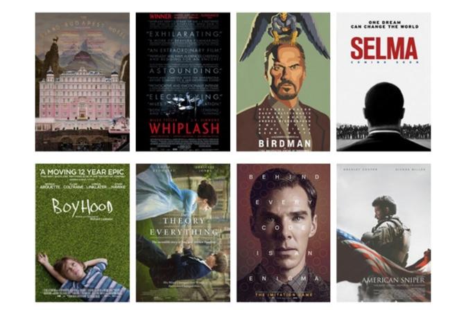 Indicados a Melhor Filme – Oscar 2015