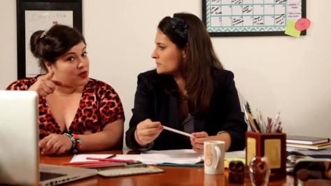 Fifi Mascarenhas e Aurélia Camargo