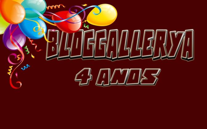 4 de julho: 4 anos de Bloggallerya