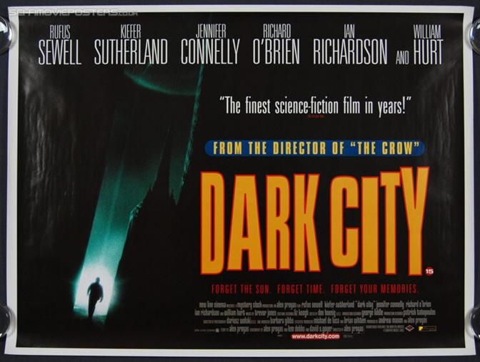 [Catálogo: Esquecidos] – Dark City: Cidade das Sombras