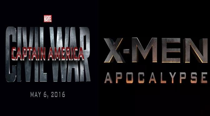 O que vem por aí: Capitão América – Guerra Civil / X-Men – Apocalypse