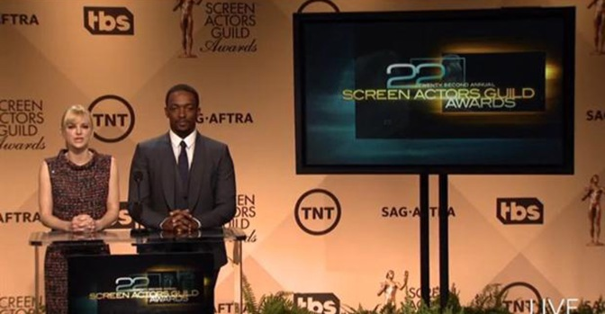Indicados ao SAG (Screen Actors Guild Awards) 2016