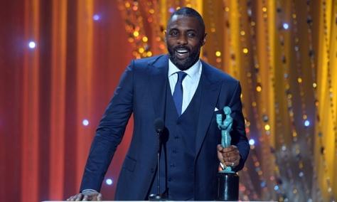 Idris Elba levou o prêmio de Melhor Ator Coadjuvante