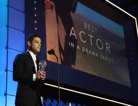 Rami Malek foi eleito o Melhor Ator em Série Dramática