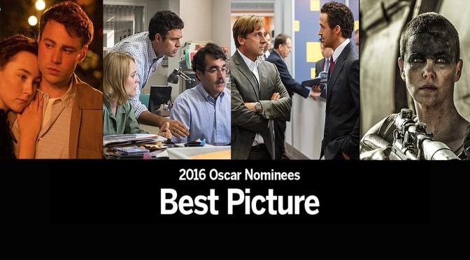 Oscar 2016: Indicados a Melhor Filme – Parte 1