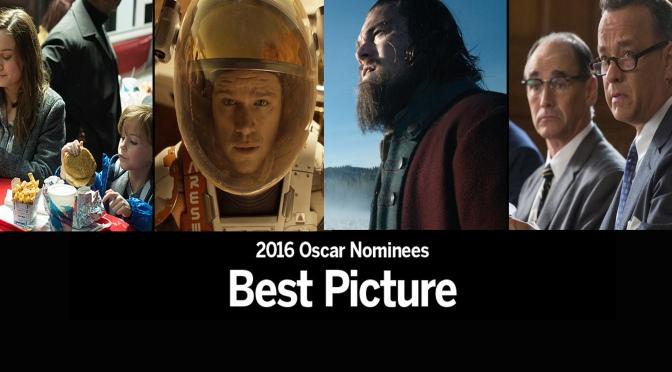 Oscar 2016: Indicados a Melhor Filme – Parte 2