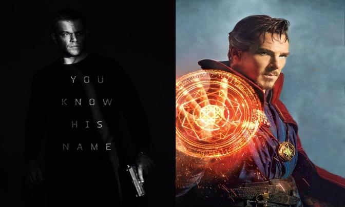 O que vem por aí: Jason Bourne / Doutor Estranho