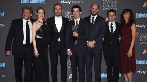 La La Land, o queridinho da temporada, foi o grande vitorioso da noite