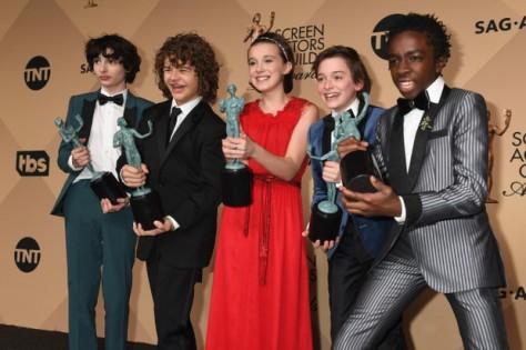 Como era esperado, Stranger Things foi premiada na categoria Melhor Série de Drama