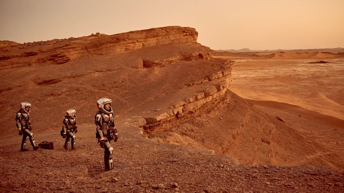 The global event series MARS premieres on the National Geographic Channel in November 2016.  (photo credit: National Geographic Channels/Robert Viglasky)