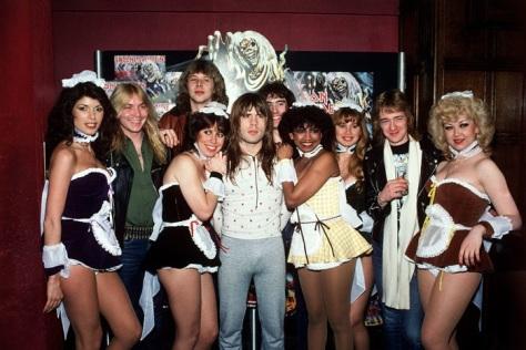 Iron Maiden - lançamento de TNOTB