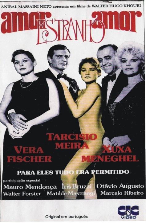 Amor Estranho Amor (capa do vhs)