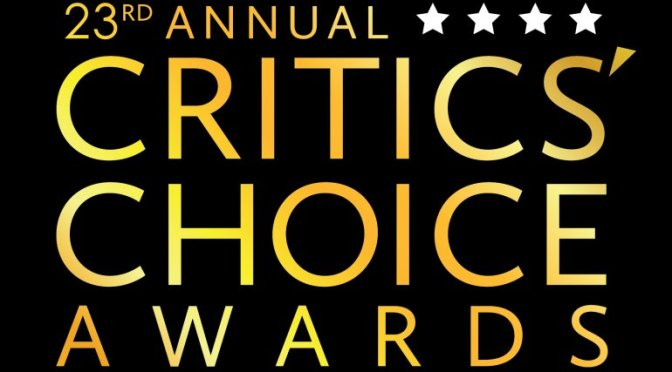 Vencedores do Critics' Choice Movie Awards 2018