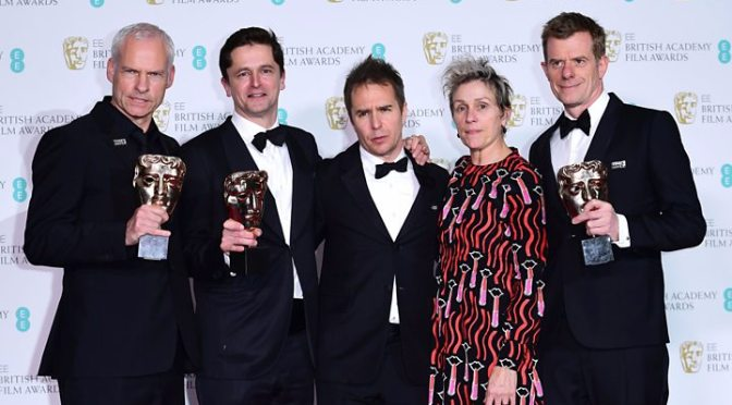Vencedores do BAFTA 2018