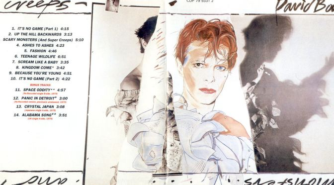 Scary Monsters (1980) – David Bowie
