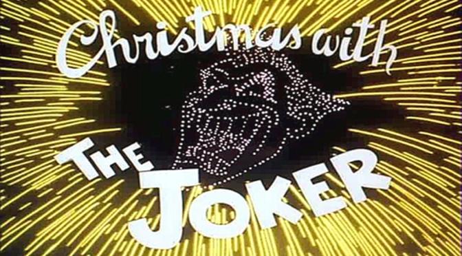 Feliz Natal Com o Coringa